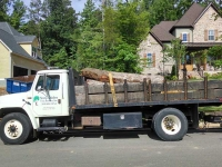 Stump Grinders Tree Service, Inc. Flatbed Truck